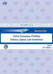 Australia - Telco Company Profiles - Telstra, Optus and Vodafone